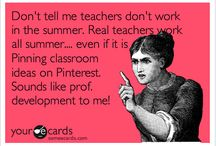 Teaching Humor / Funny tidbits about teaching