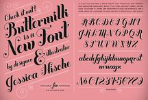 Typography / by Andrea Trninic