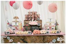 Rustic Wedding Dessert Tables / Rustic dessert table
