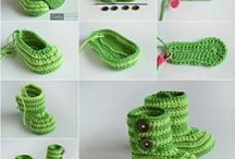 Crochet babyboots tutorial