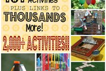 Fun Summer Activities / Summer is here!! Fun activity ideas that everyone would appreciate.