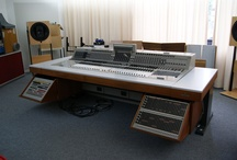 Favorite Recording Consoles / Our favorite Recording Studio Consoles both old school & new school.