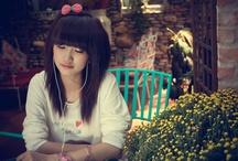Vietnamese / Vietnamese beautiful girls, áo dài / by Nice Picture