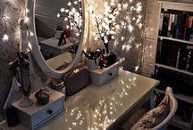 Look into the mirror / Simple and DIY ideas for the dressing table at home
