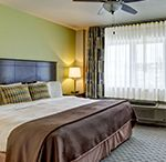 Palm Pavilion Inn Accommodations / Enjoy the beach front view from our beautifully appointed rooms.