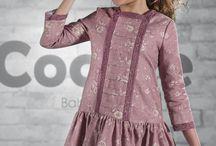 vestido nena invierno