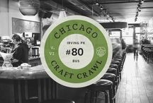 """Chicago Craft Crawl's / The Chicago Craft Crawl (""""CCC"""" as we'll dub it) is the start of an ongoing series that we will use an excuse to check out some of Chicago's best neighbourhoods – and drink some fantastic beer along the way. The idea is simple.  Plan a route through the city using only the CTA and short walks. The less time you spend between drinking holes the better."""