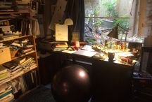 Writing Spaces / A growing assortment of my favorite writing spaces--of my own and of other writers.