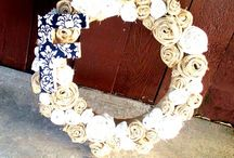 Wreath Party / Good wreath ideas for party night!