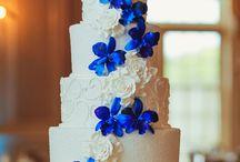 blått bryllup