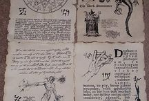 D&D/Pathfinder RPG inspiration / Reference and inspirational material for roleplaying games like pathfinder and d&d