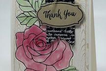 Card - SU rose wonder