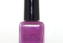 Raspberry Beret- Iconic Luxury Nail Colour  / Vivid raspberry purple color from the collection Parisian Socialite www.iconiclifestyleinc.com