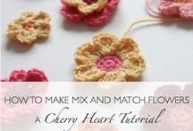 Crochet Flowers / Crocheting