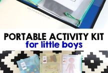 For baby / Games, clothes, activities