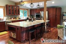 Cherry Cabinets / by Cabinets.com