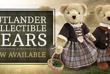 Outlander Gifts! / Stuffed bears and other toys based on the characters created by Diana Gabaldon in her Outlander novels.