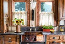 Farmhouse kitchen update / by Nancy Scott