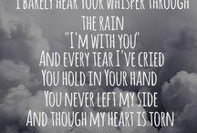 Lyrics / Lyrics of my favourite songs