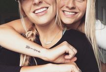 Tatto sister-friends