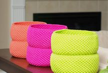 Chrochet Baskets