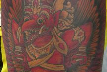 Misha Tattoo's: Dark Skin tattoos / these are tattoos done on darker skin, showing how well color actually shows and that there are more options than just black ink for darker skin. www.misha-art.com / by Misha Noneyobusiness