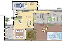 Maison Extérieur et Plans