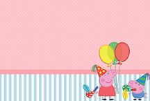 Themes: Peppa Pig Party