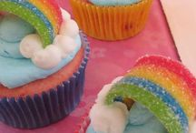 My little pony party rainbows