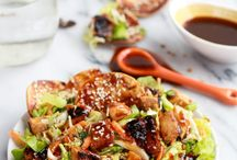 asian salad honey sauce