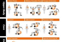 Workout on the Ball / My picks for exercising on an exercise ball