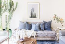 MYDOMAINE + Amanda Barnes Interiors / California Cool and Calming Color Tones with this renovated Home Tour on MYDOMAINE