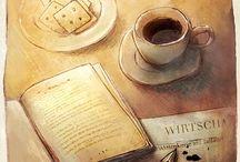 Kaffee / Coffee / Unersetzlich: Ein guter Kaffee am Morgen (und jederzeit). / Good Coffee in the morning and all day long.