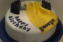 Joshua ' s birthday cake