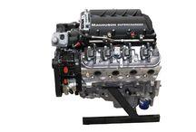 LS3 w/Magnuson Heartbeat Supercharger / LS3 Engine with Magnuson Heartbeat Supercharger and Black Anodized Aluminum Serpentine System