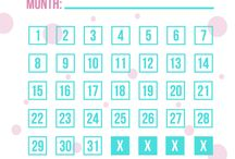 Planner no spend month printable