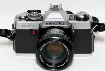 Mijn verzameling Minolta camera's / Minolta camera's