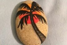 Authentic Floridians Rock / Like an Easter Egg Hunt, we are in search of the coolest Florida themed painted rocks. We encourage you to paint your own Florida rocks and tag them with #AuthenticFlorida. From your friends at AuthenticFlorida.com