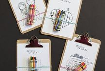Kids favors animation / Kids table favors animation