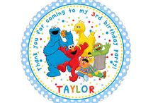 Personalized Party Stickers