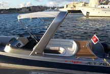 Jet 765 / new outboard jet engine tender for private island