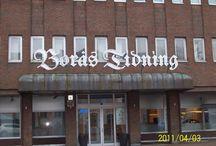Muistojen kaupunki. / Borås joka oli kotikaupunki 20 vuotta.