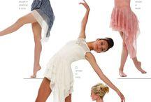 Contemporary dress dance