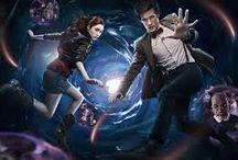 doctor who / daleks en de dokter en amy en clara