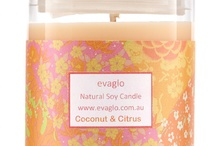 evaglo natural body candles