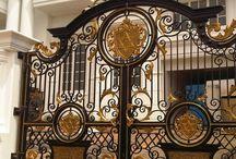 ворота кованная