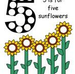 Sunflower Early Learning Ideas / Find these sunflower activities and more at www.makinglearningfun.com!