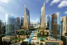 Futuristic City Concepts / Just invigorating my imagination... Coz to imagine is to open ones self to possibilities...