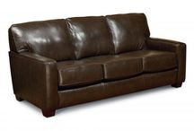 Real Leather Stationary Furniture / This includes sofa's, love seats, chairs, and ottomans.
