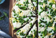 veggie pizza recipes / by Love and Lemons